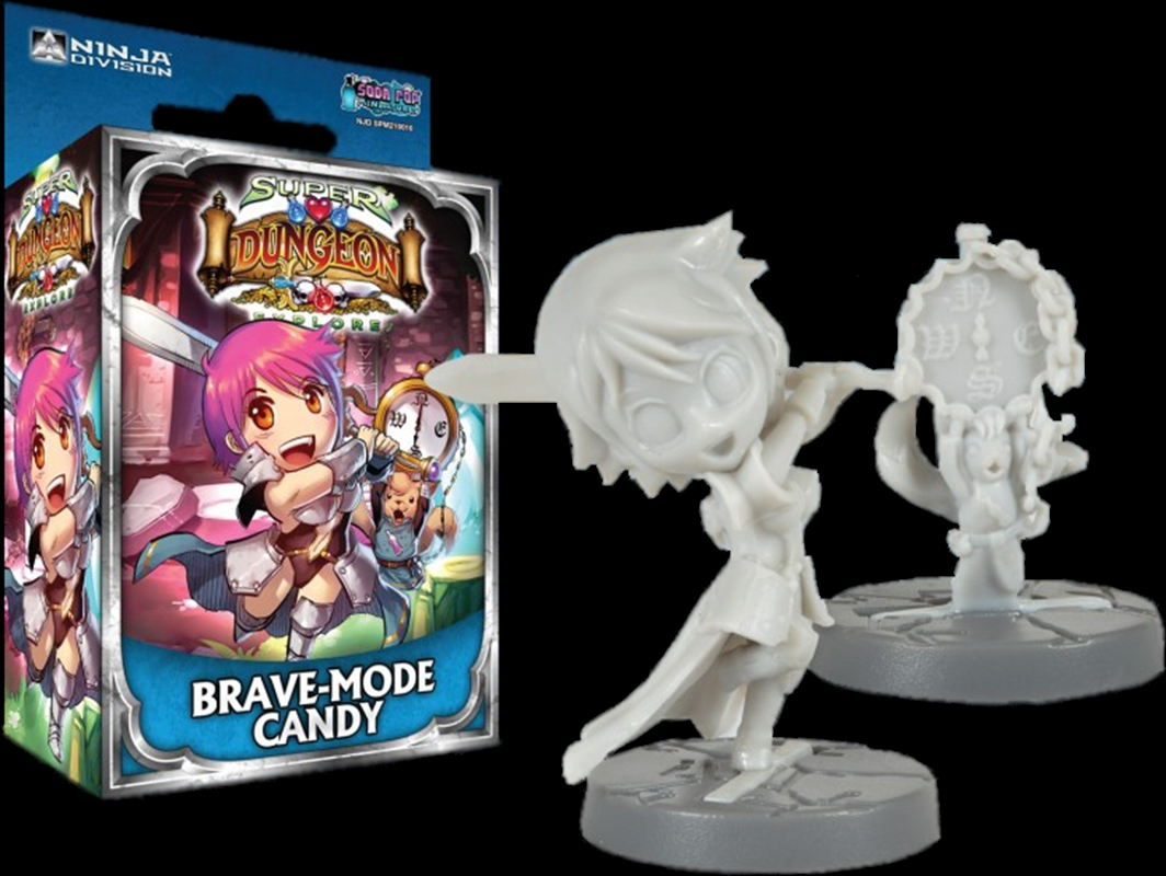 Super Dungeon Explore - Brave-Mode Candy Character Pack   Merchandise