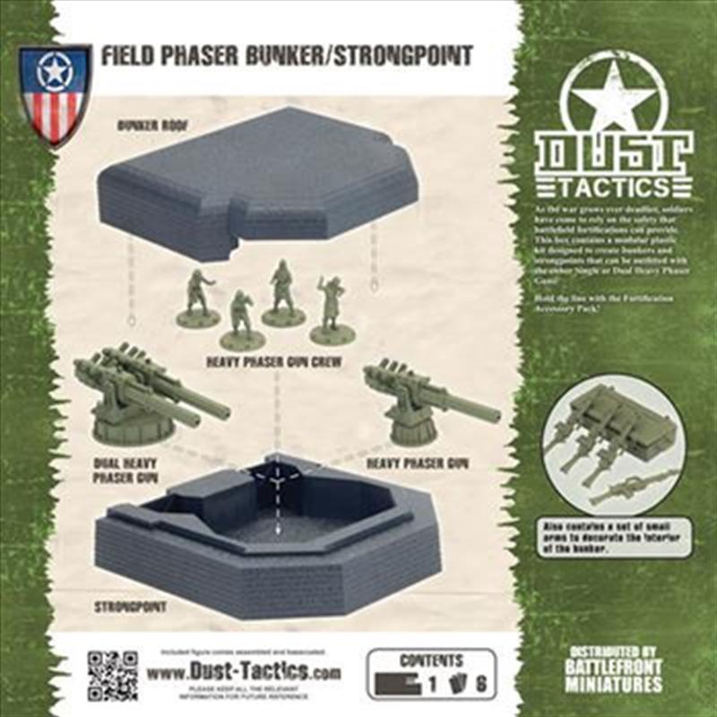 Allies Field Phaser Bunker | Games