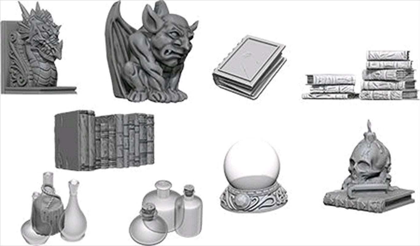 WizKids - Deep Cuts Unpainted Miniatures: Wizards Room | Games