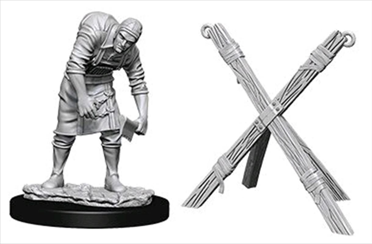 Wizkids - Deep Cuts Unpainted Miniatures: Assistant & Torture Cross | Games