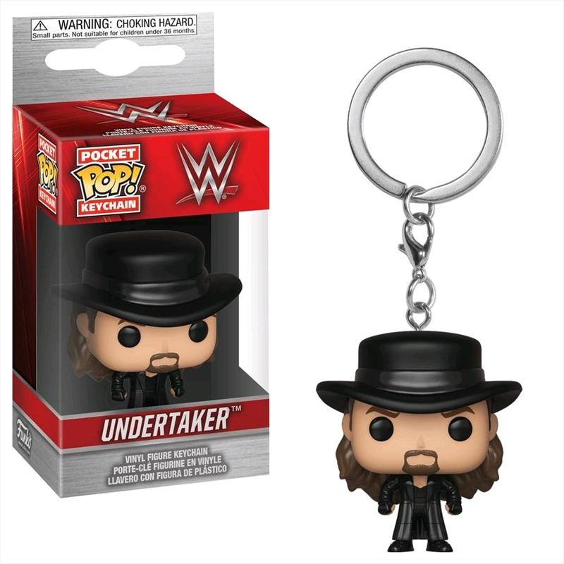 WWE - The Undertaker Pocket Pop! Keychain [RS] | Pop Vinyl