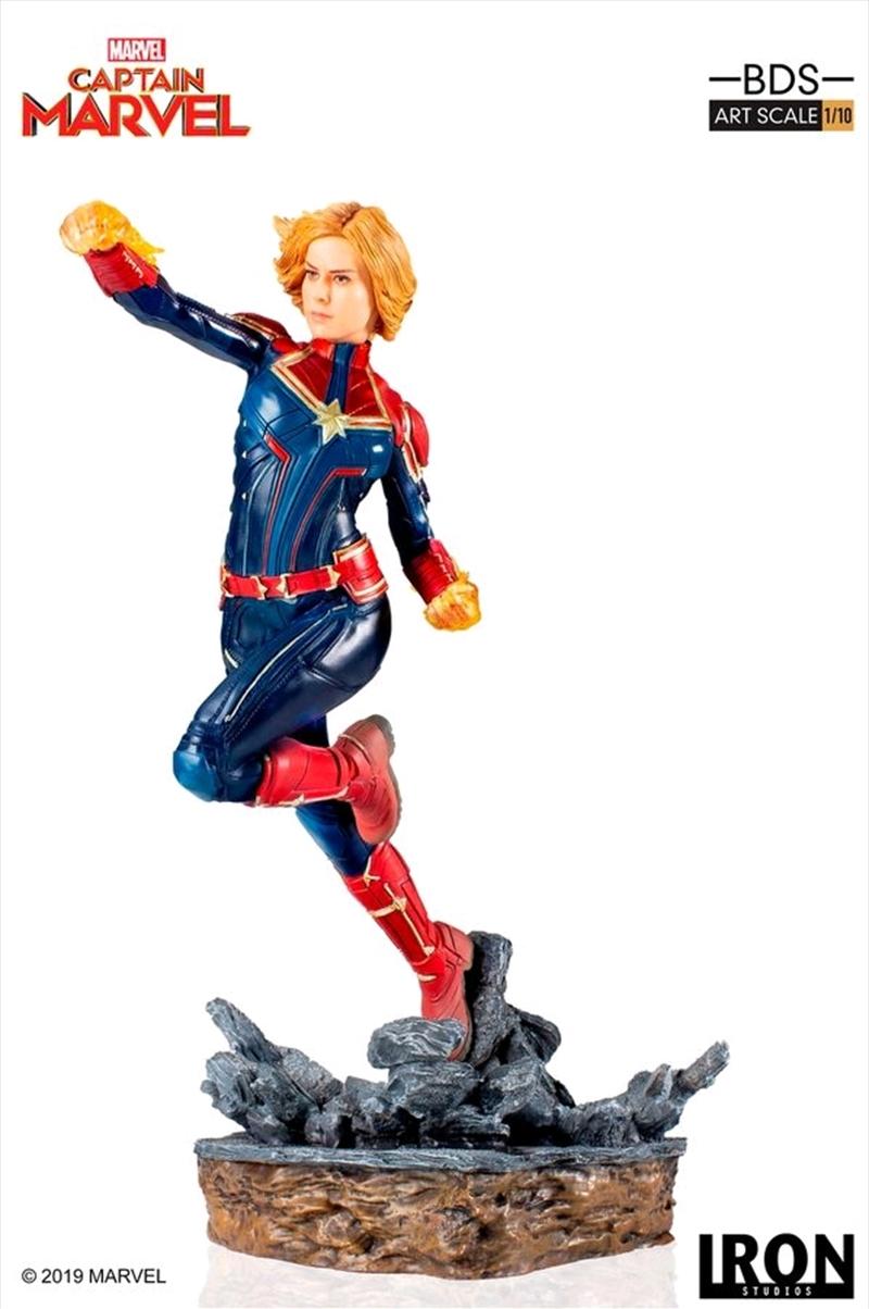 Captain Marvel - Captain Marvel 1:10 Scale Statue | Merchandise
