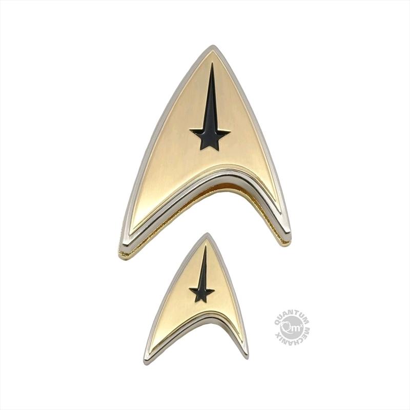 Star Trek: Discovery - Enterprise Command Badge & Pin Set | Merchandise