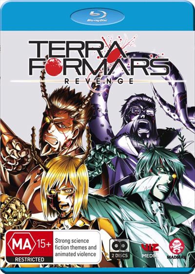 Terra Formars - Revenge - Season 2   Blu-ray