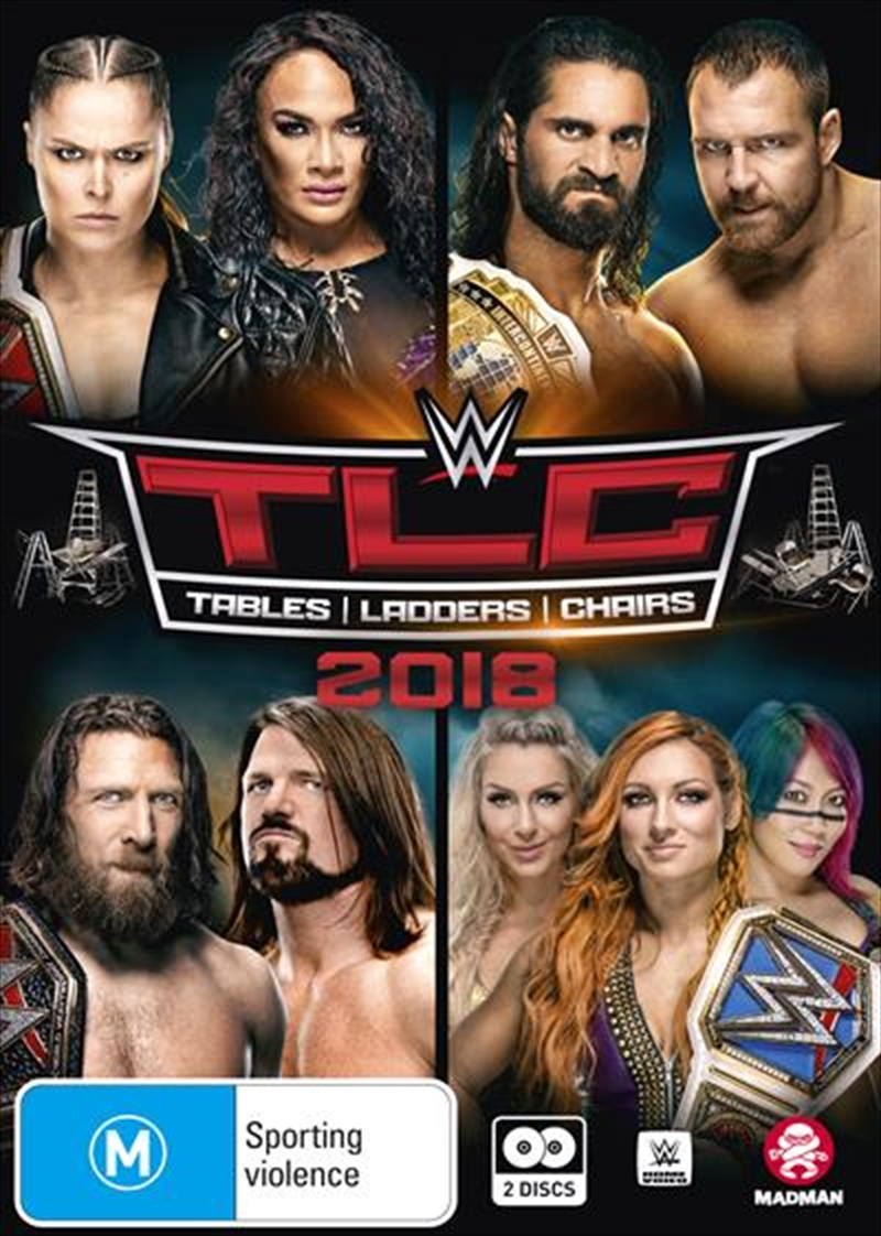 WWE - TLC - Tables, Ladders, Chairs 2018 | DVD