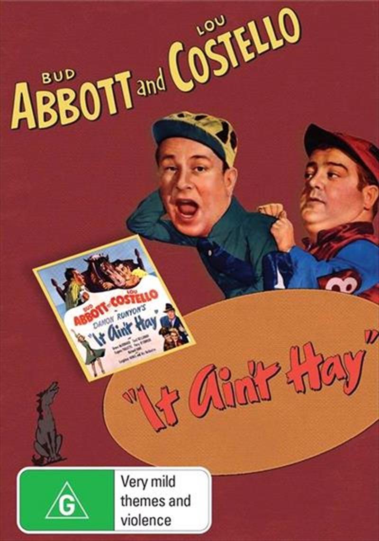 It Ain't Hay   DVD