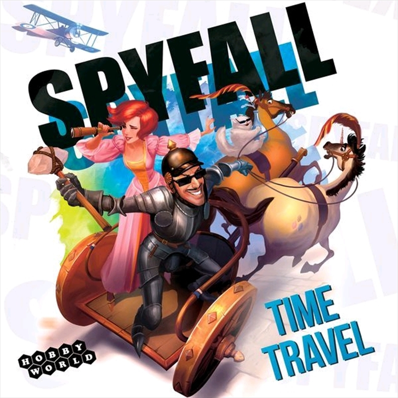 Spyfall - Time Travel Board Game | Merchandise