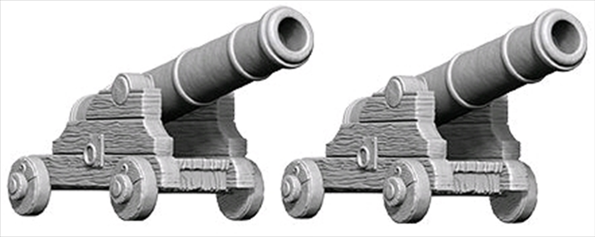 Wizkids - Deep Cuts Unpainted Cannons | Games