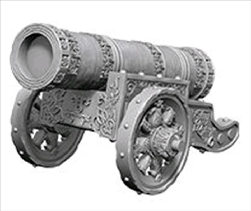 Wizkids - Deep Cuts Unpainted Large Cannon | Games