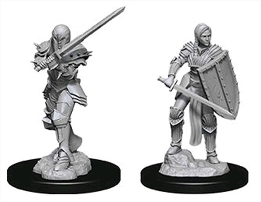 Dungeons & Dragons - Nolzur's Marvelous Unpainted Minis: Unpainted Female Human Fighter | Games