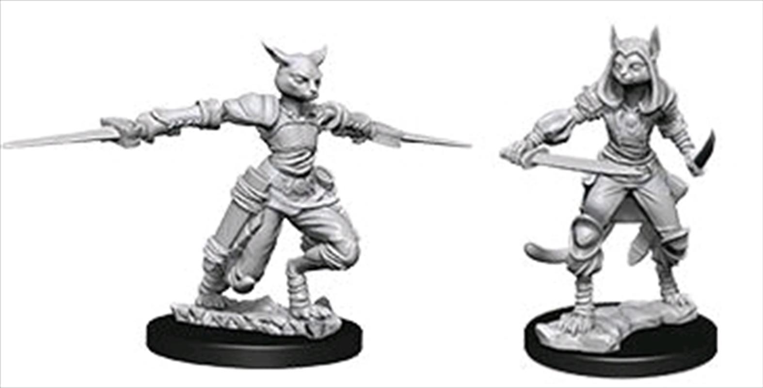 Dungeons & Dragons - Nolzur's Marvelous Unpainted Minis: Unpainted Female Tabaxi Rogue | Games