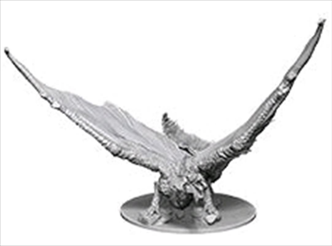 Dungeons & Dragons - Nolzur's Marvelous Unpainted Minis: Unpainted Young Brass Dragon | Games