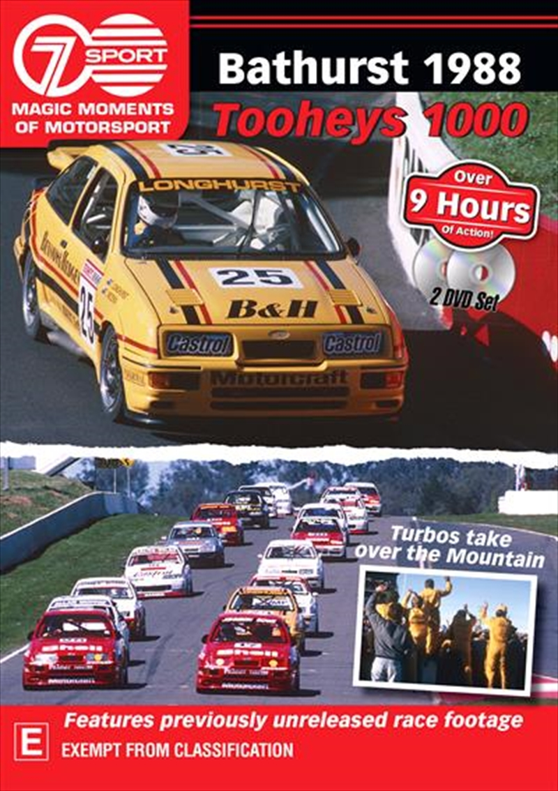 Magic Moments Of Motorsport - 1988 Tooheys 1000 | DVD