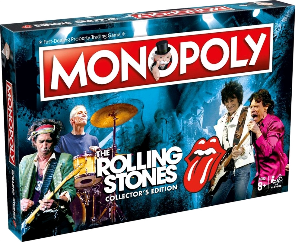 Monopoly - Rolling Stones Edition | Merchandise