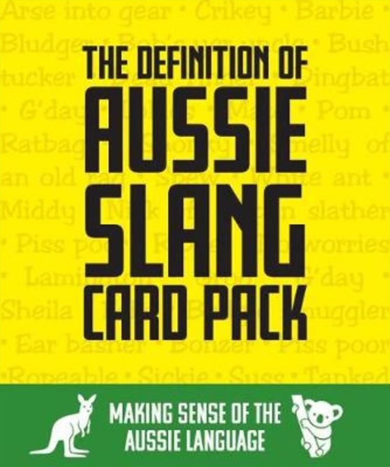Definition Of Aussie Slang | Merchandise