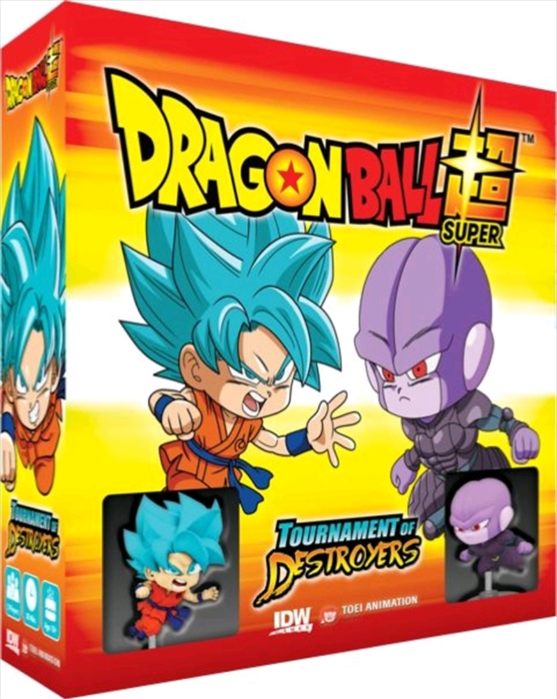 Dragon Ball Super - Tournament of Destroyers Board Game | Merchandise
