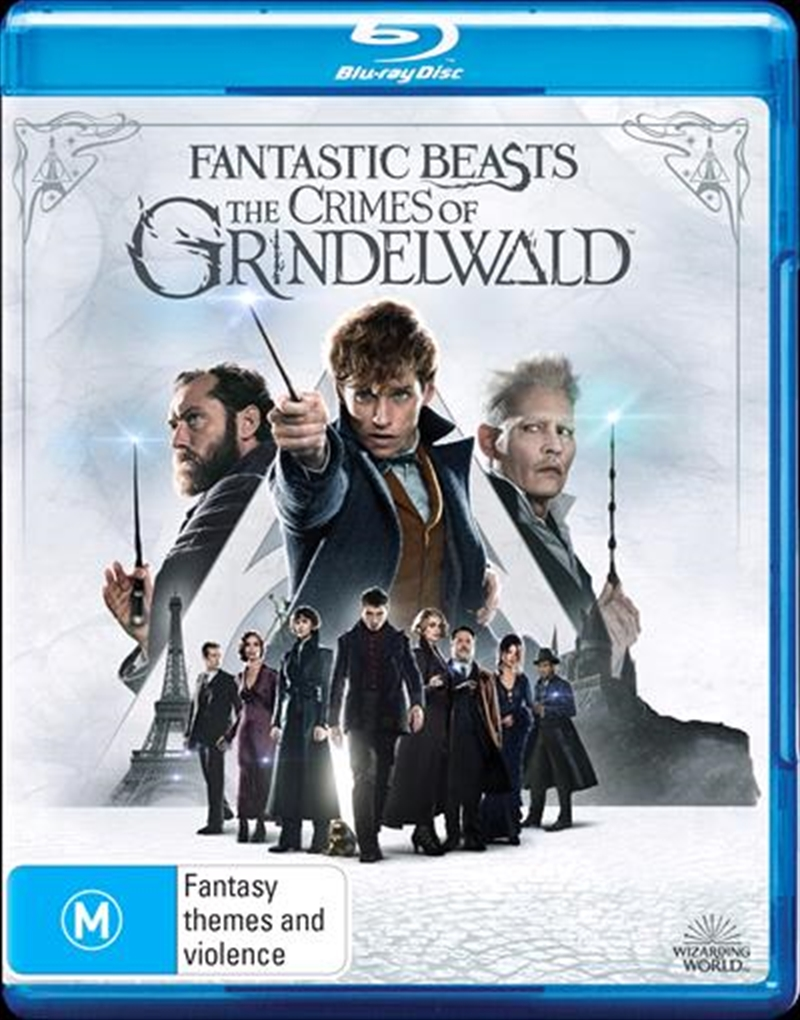 Fantastic Beasts - The Crimes Of Grindelwald | Blu-ray