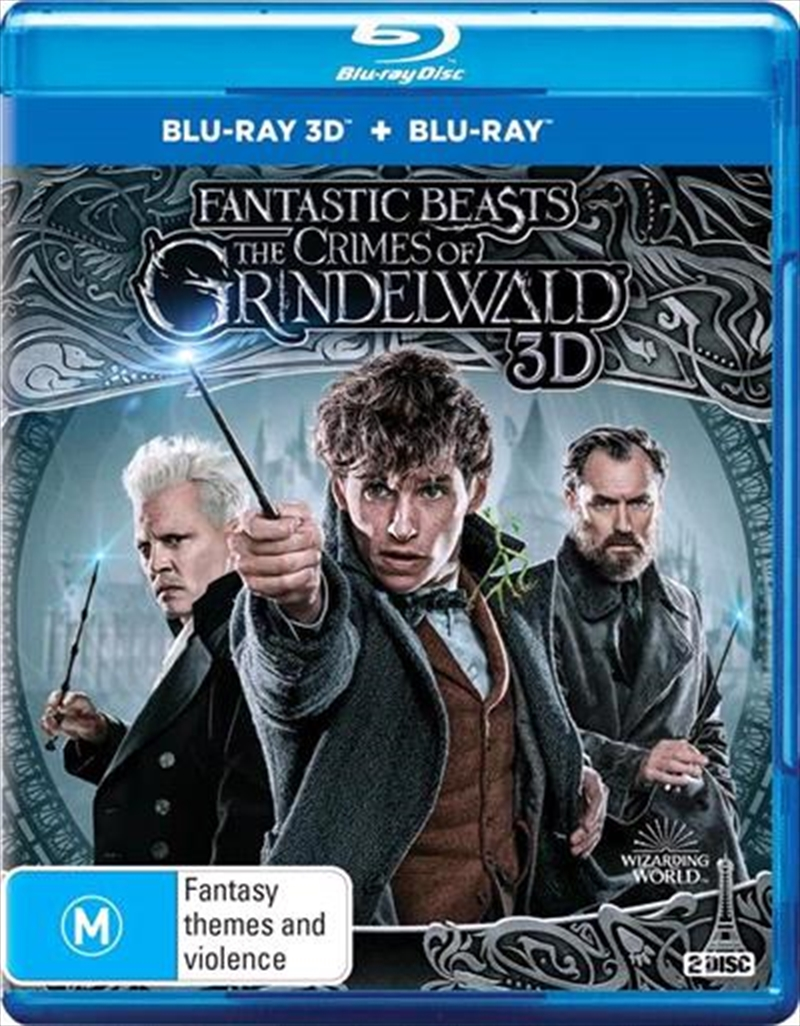 Fantastic Beasts - The Crimes Of Grindelwald | 3D + 2D Blu-ray | Blu-ray 3D