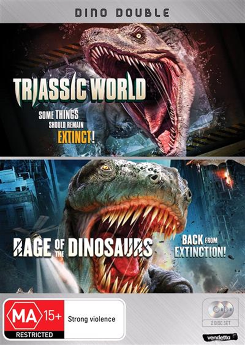 Triassic World / Rage Of The Dinosaurs | DVD