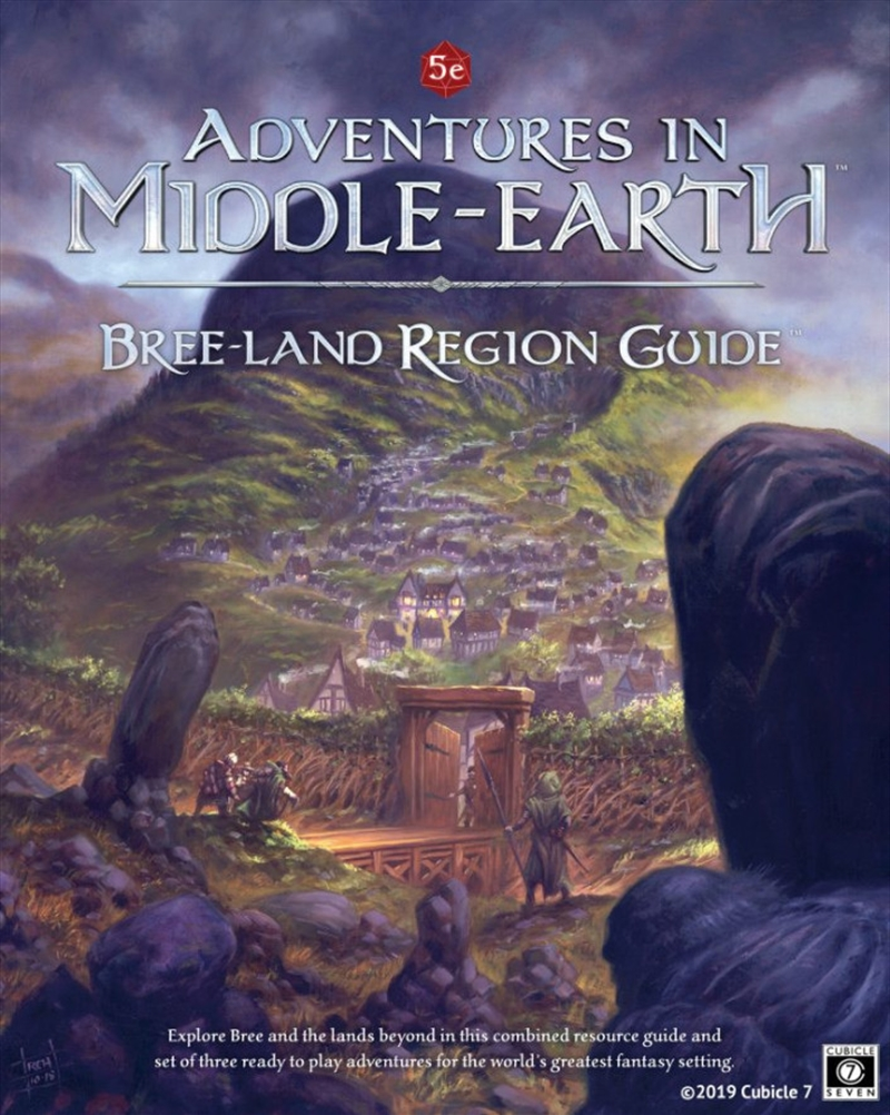 Adventures in Middle Earth RPG - Breeland Region Guide | Games