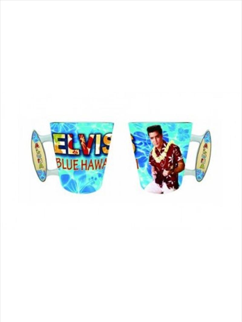 Elvis Hawaii Surfboard Handle Mug | Merchandise