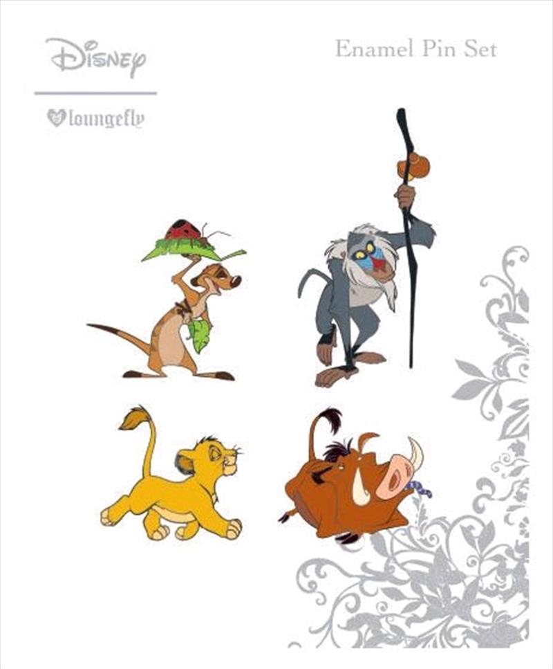Lion King - Enamel Pin 4pk | Merchandise