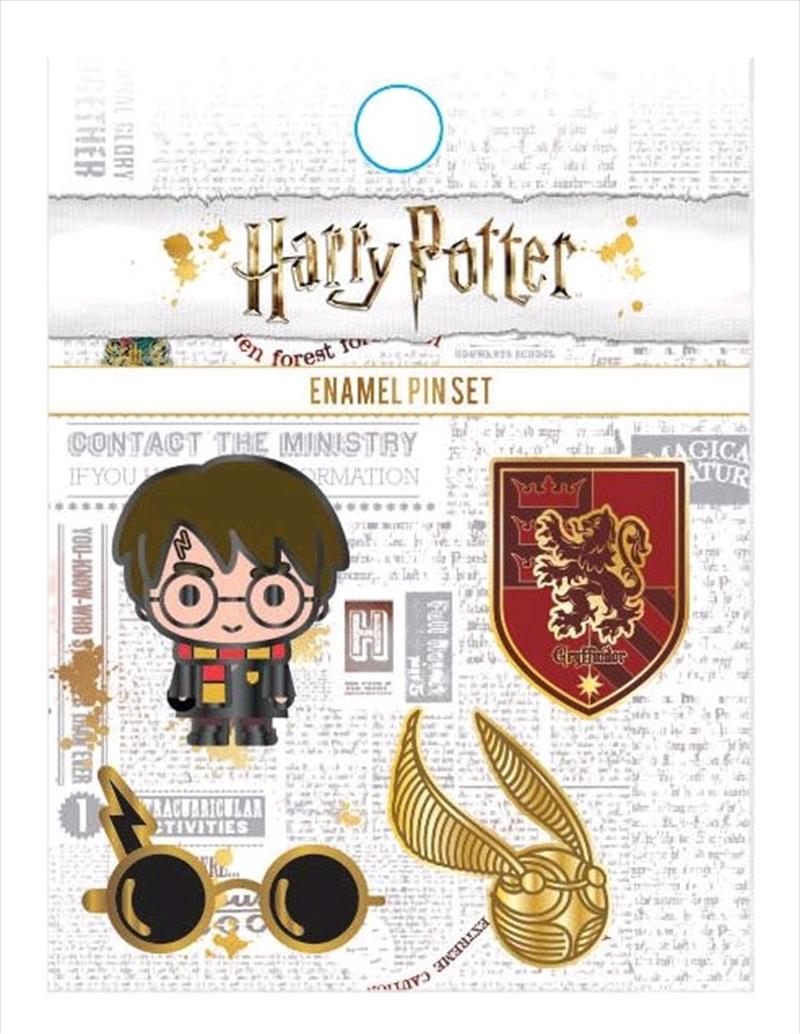 Harry Potter - Enamel Pin 4pk | Merchandise