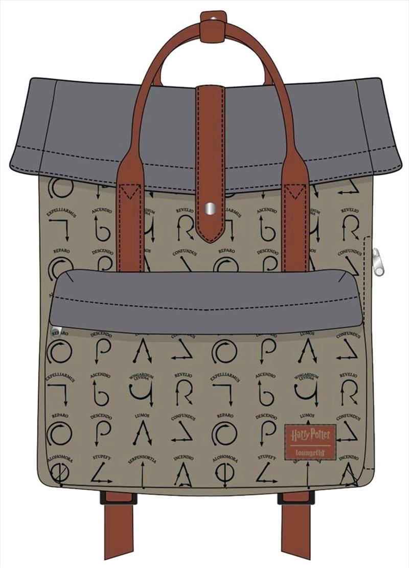 Harry Potter - Spell Symbols Backpack | Apparel