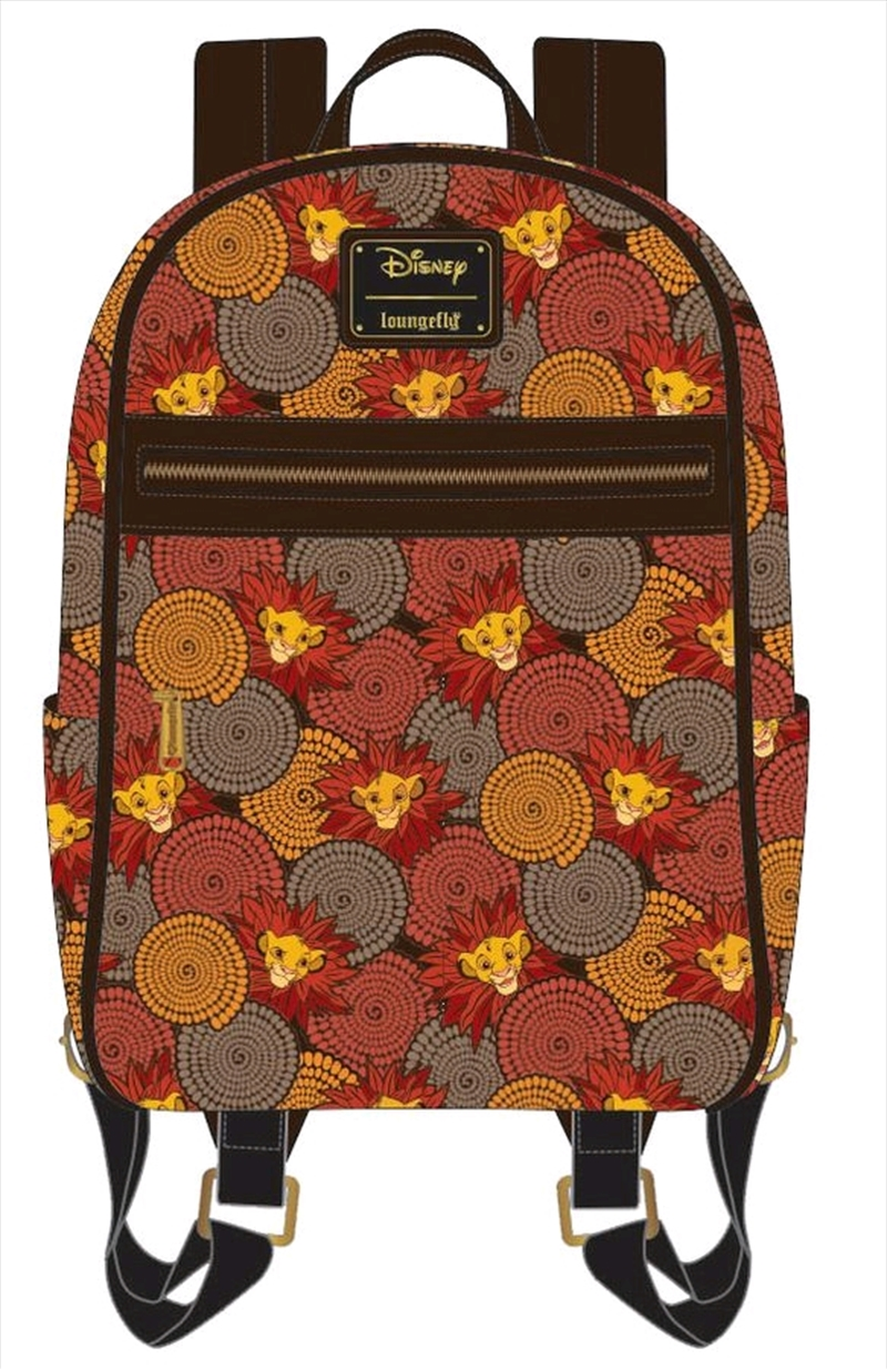 Lion King - Simba Leaf Mane Backpack | Apparel