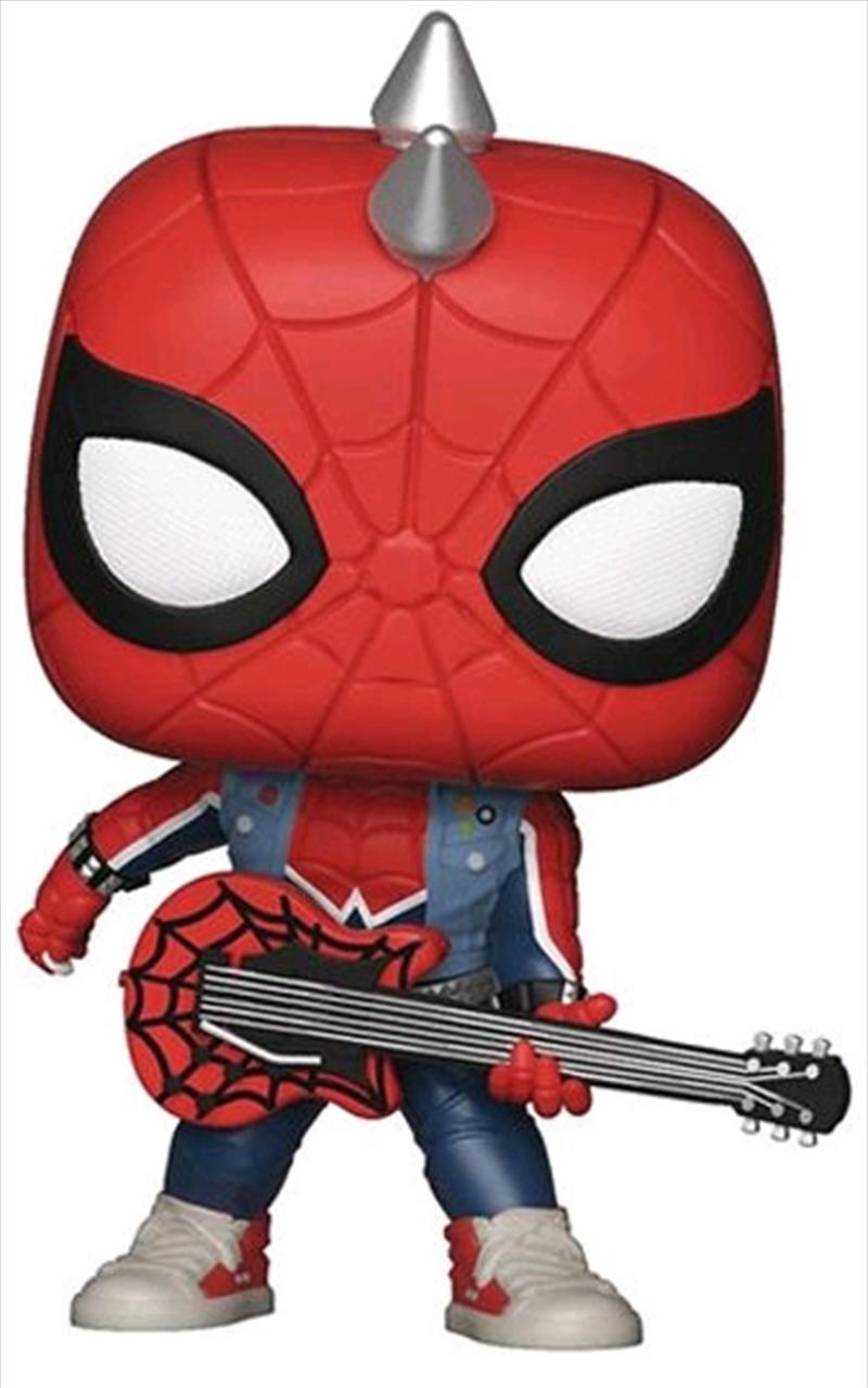 Spider-Man (Video Gamd 2018) - Spider-Punk US Exclusive Pop! Vinyl | Pop Vinyl