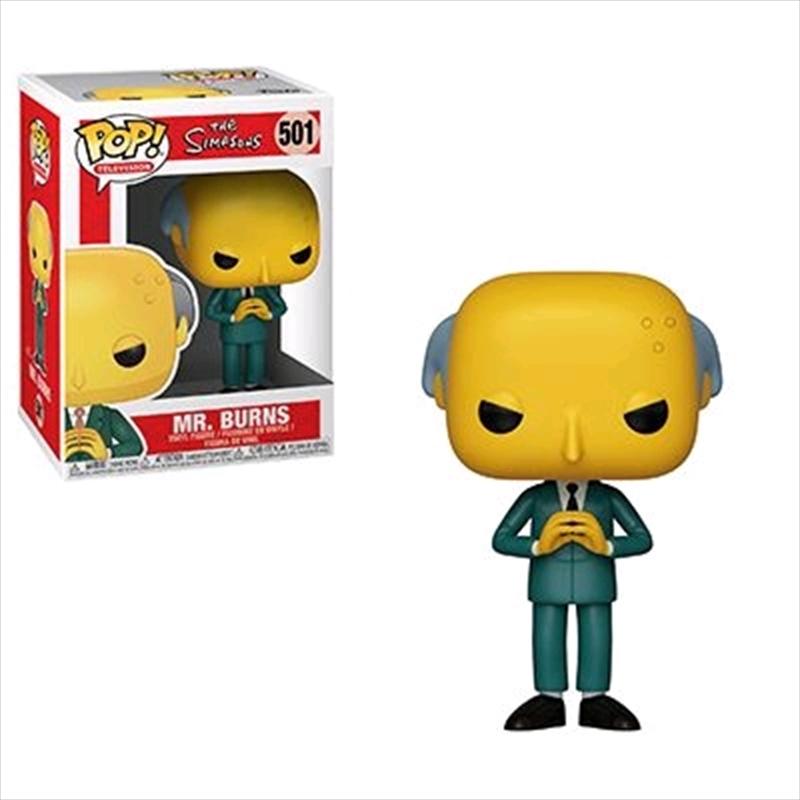 Simpsons - Mr Burns Pop! Vinyl   Pop Vinyl