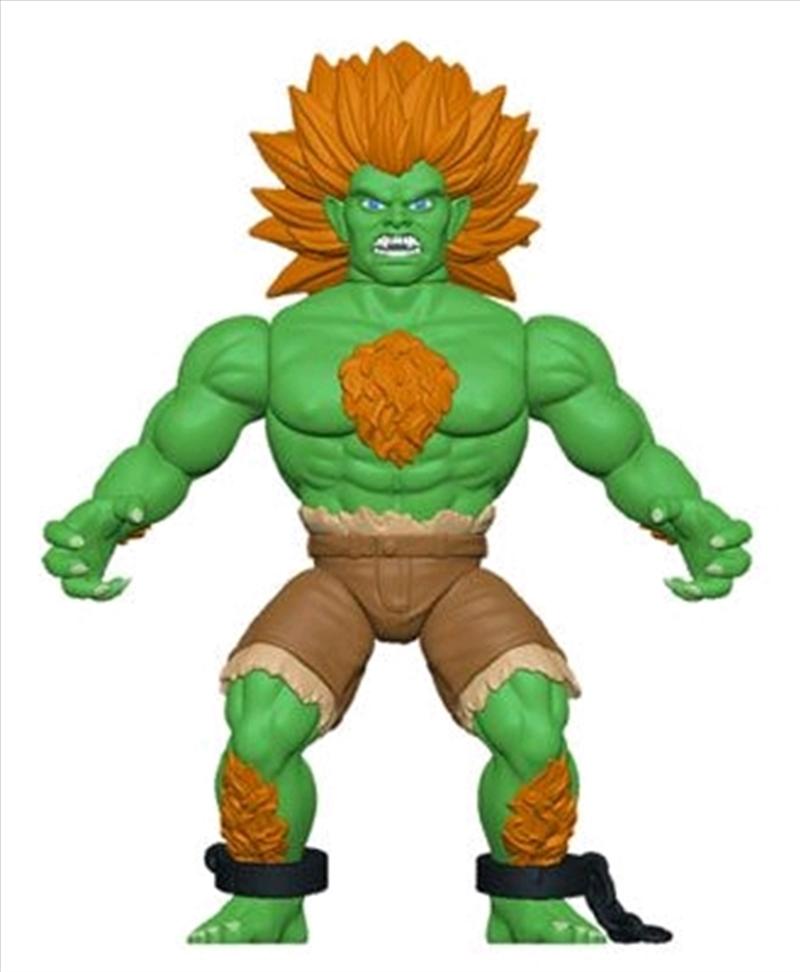 Street Fighter - Blanka Savage World Action Figure | Merchandise