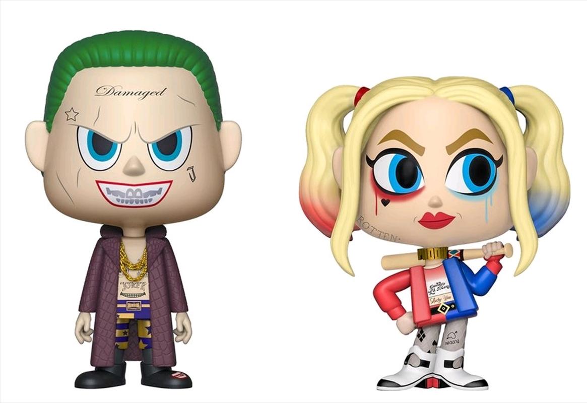Suicide Squad - Joker & Harley Quinn Vynl.   Pop Vinyl