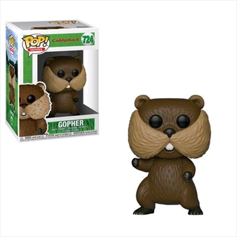 Caddyshack - Gopher Pop! Vinyl | Pop Vinyl