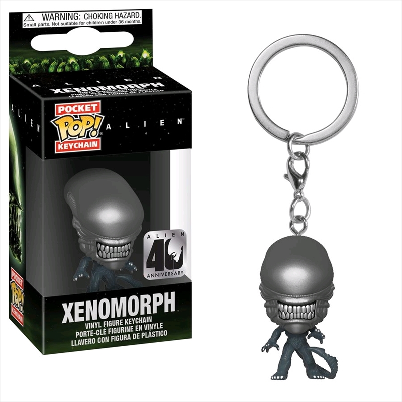 Alien - Xenomoprh 40th Anniversary Pocket Pop! Keychain | Pop Vinyl