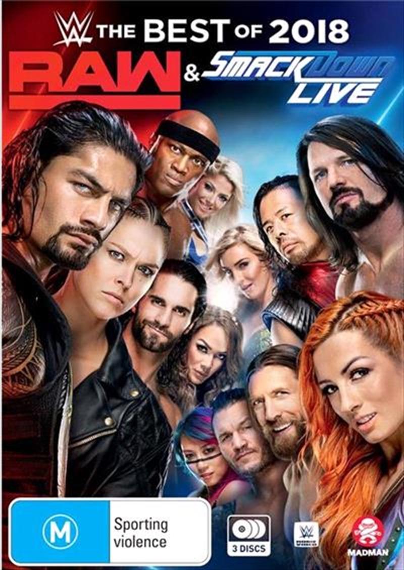 WWE - Best Of Raw Smackdown 2018 | DVD