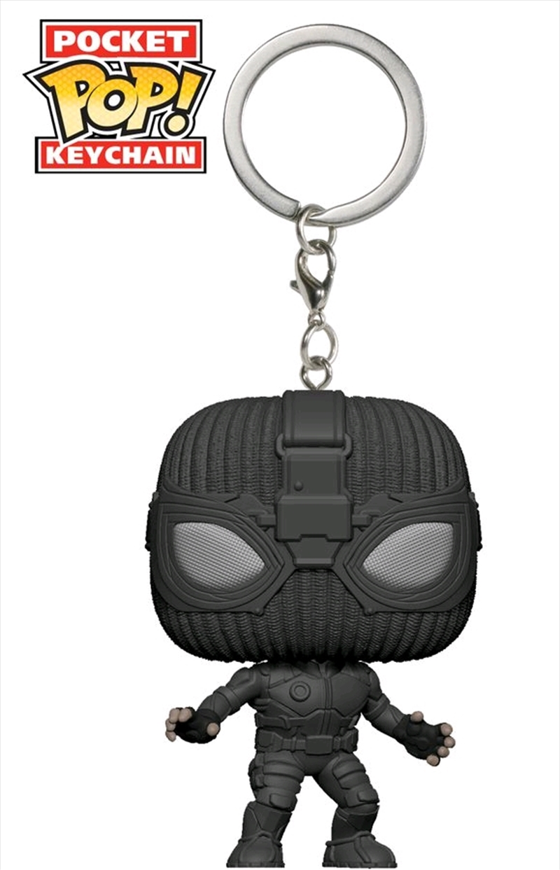 Spider-Man: Far From Home - Stealth Suit Pocket Pop! Keychain | Pop Vinyl