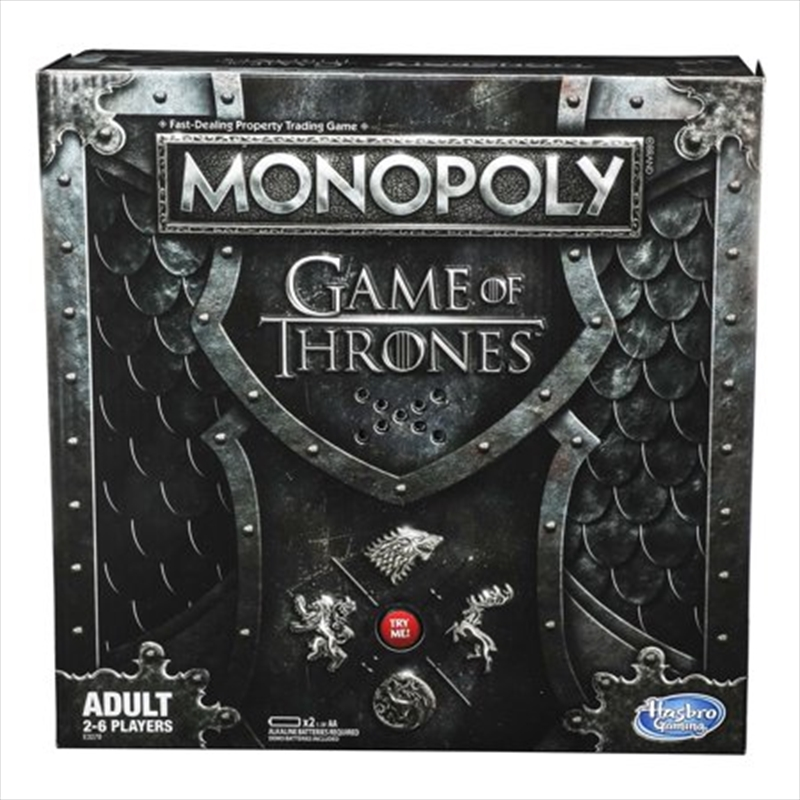 Game of Thrones Monopoly - 2019 | Merchandise