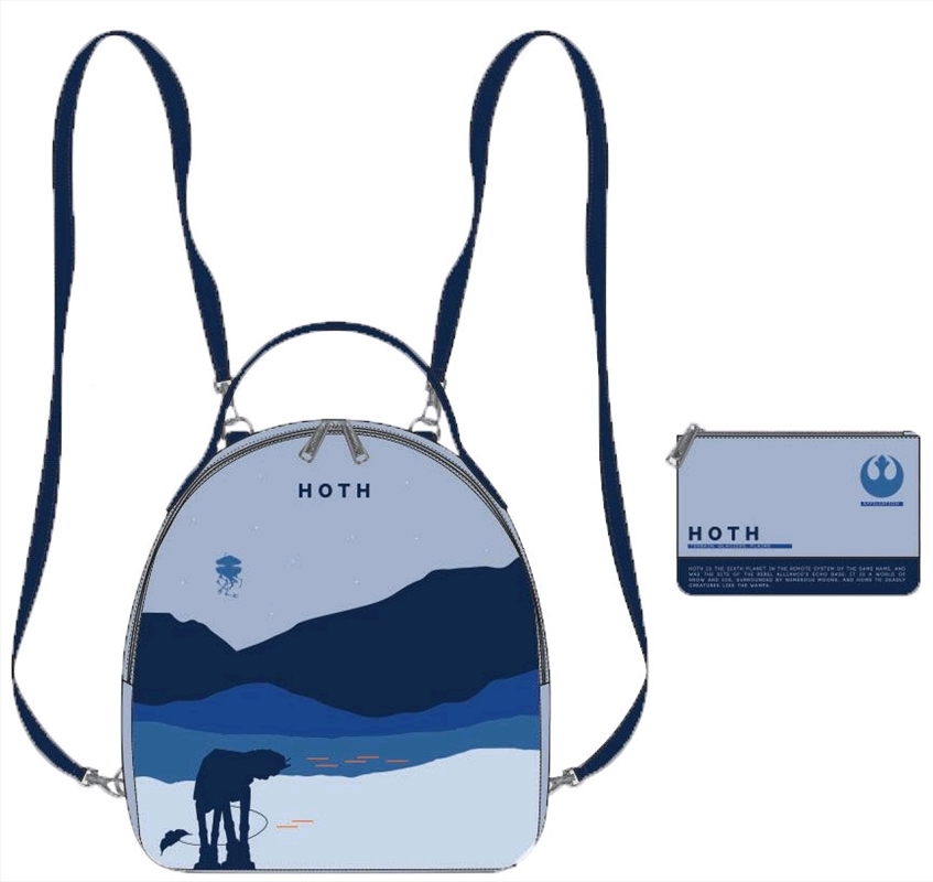 Star Wars - Hoth Limited Edition Mini Backpack with Pouch | Apparel
