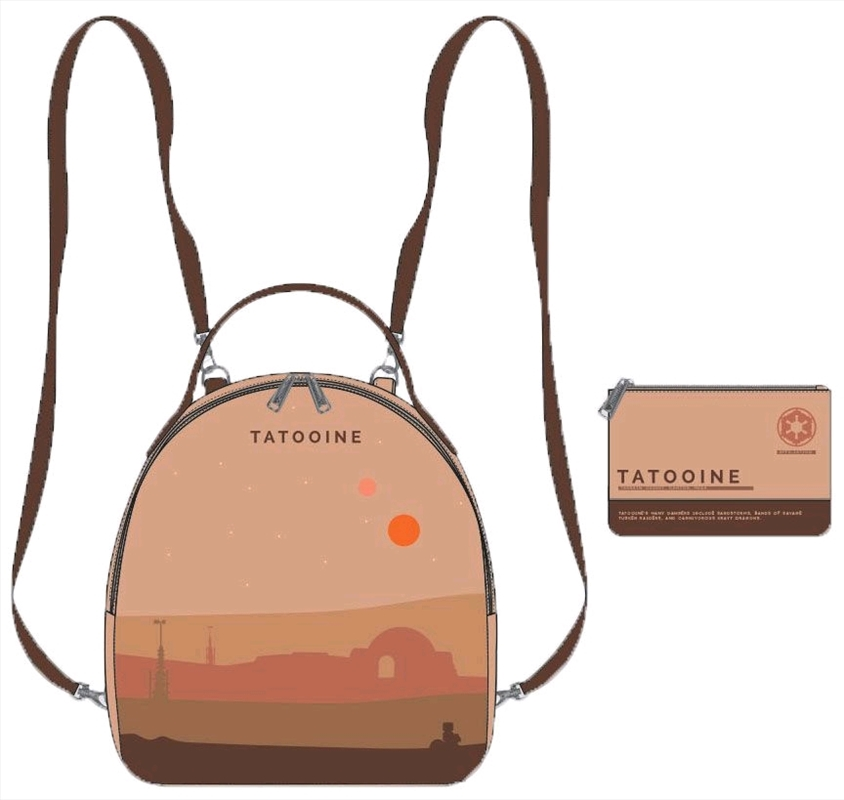 Star Wars - Tatooine Limited Edition Mini Backpack with Pouch | Apparel