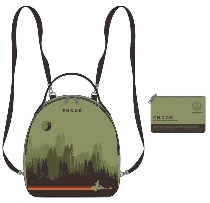 Star Wars - Endor Limited Edition Mini Backpack with Pouch | Apparel