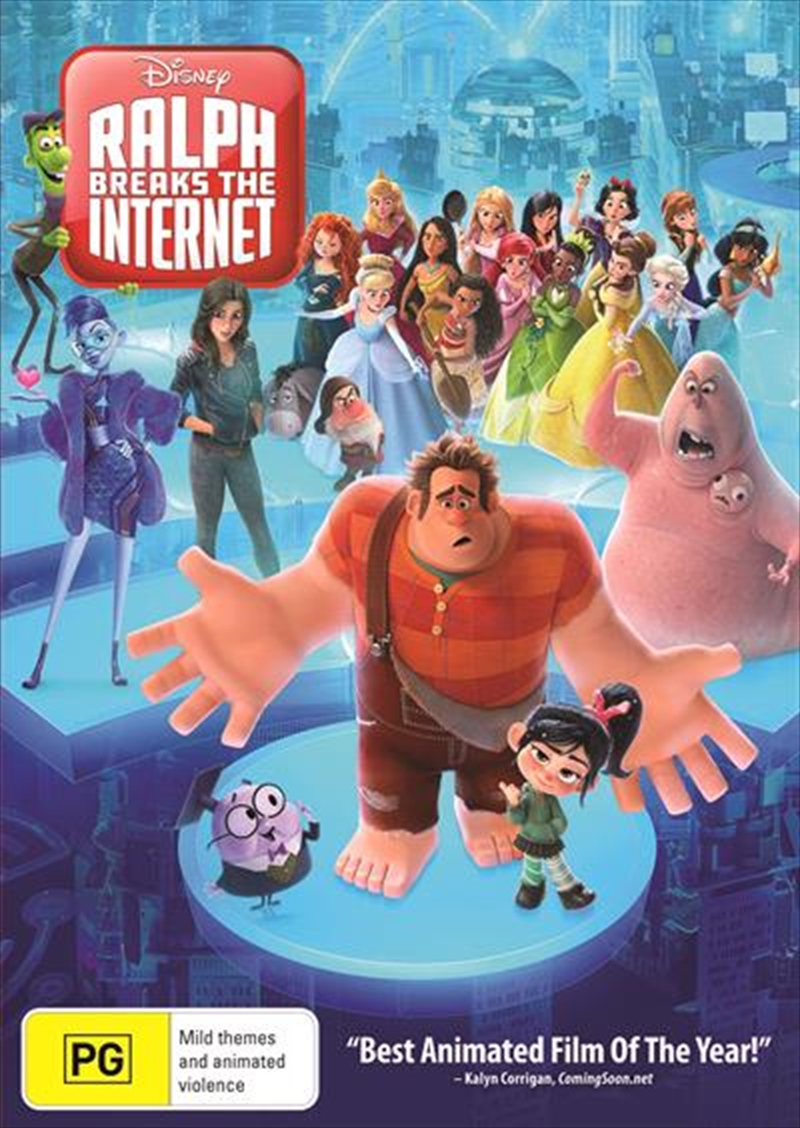 Ralph Breaks The Internet | DVD