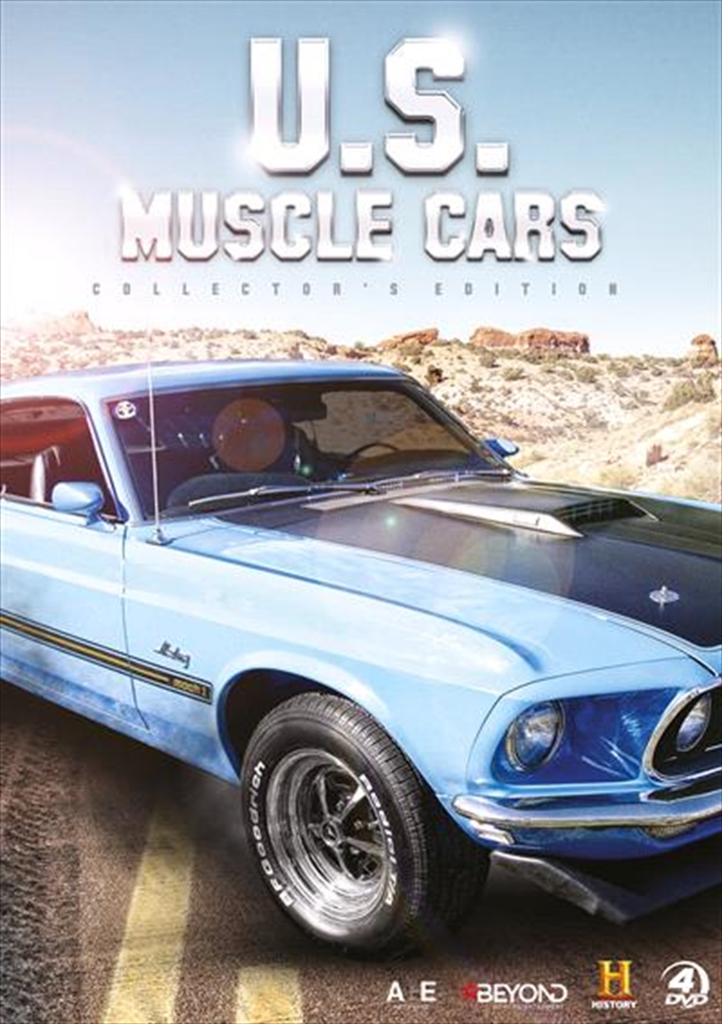 US Muscle Cars Collector's Gift Set | DVD