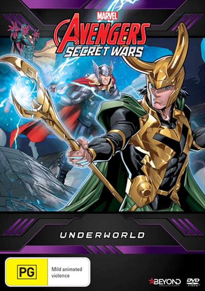 Avengers Secret Wars - Underworld | DVD