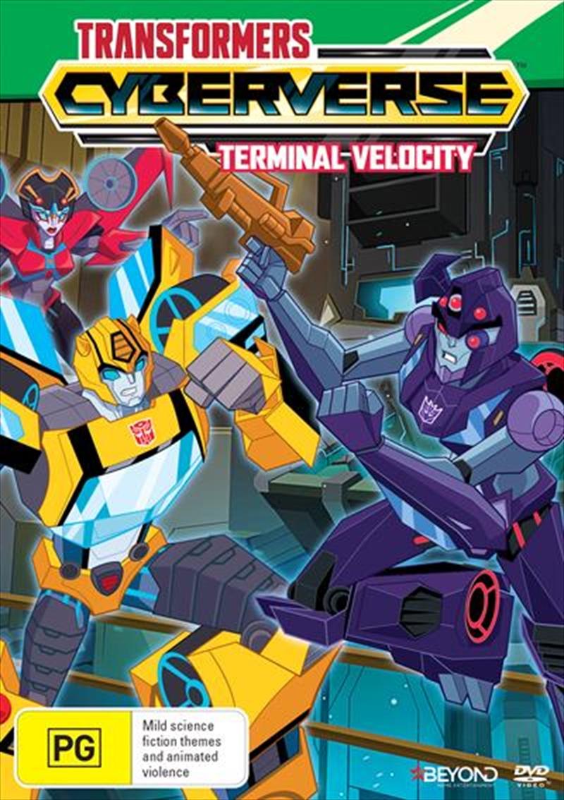 Transformers Cyberverse - Terminal Velocity   DVD