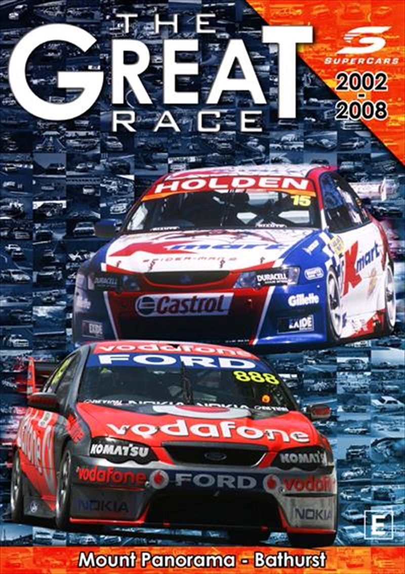 Great Race - 2002 To 2008 Supercars, The | DVD