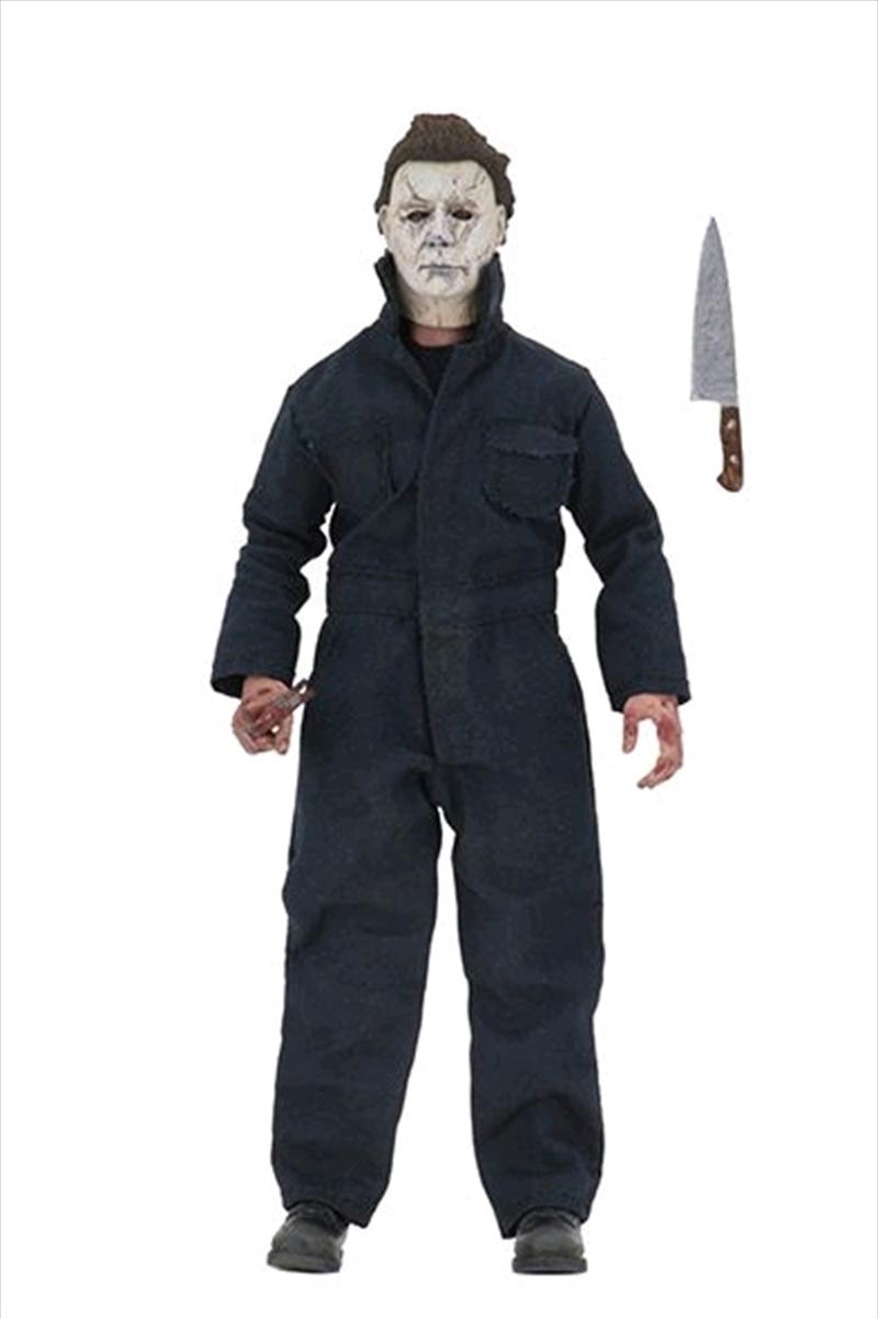 "Halloween (2018) - Michael Myers 8"" Clothed Action Figure | Merchandise"