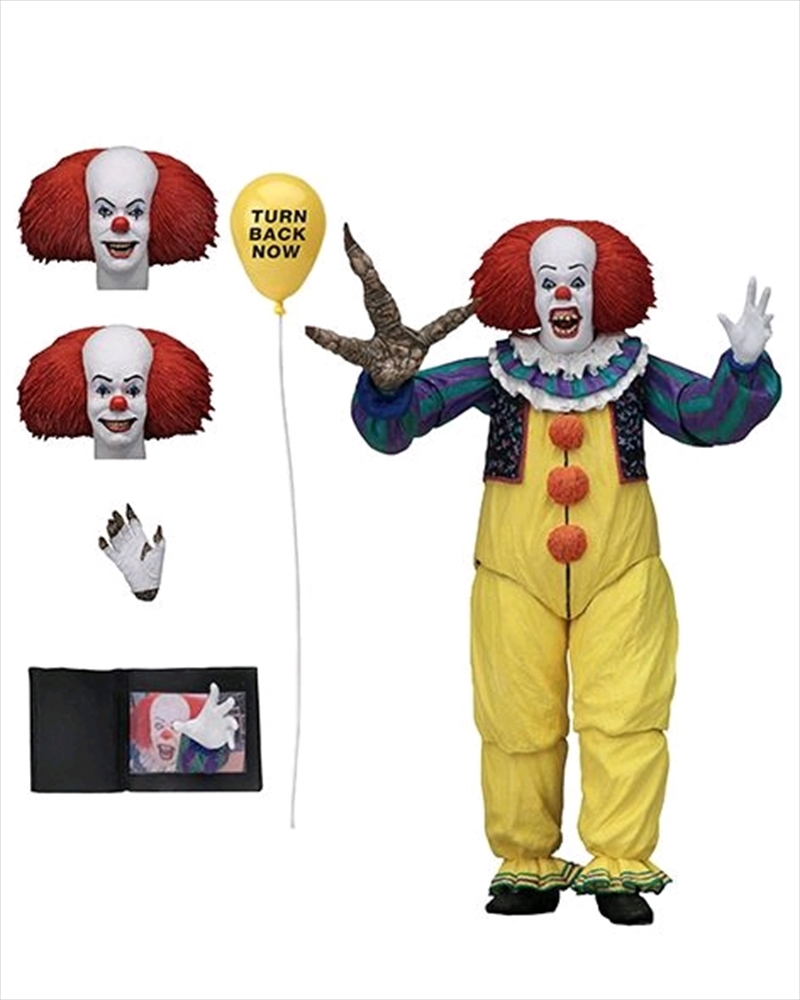 """It - Pennywise Ultimate Version 2 7"""" Action Figure 