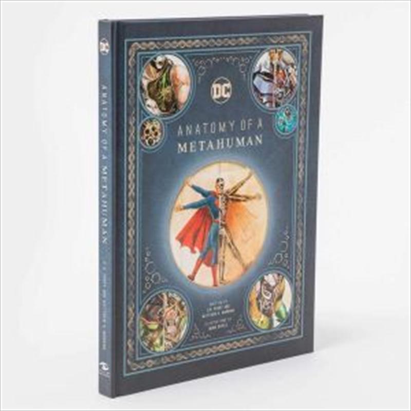 Anatomy Of a Metahuman - DC Comics | Hardback Book