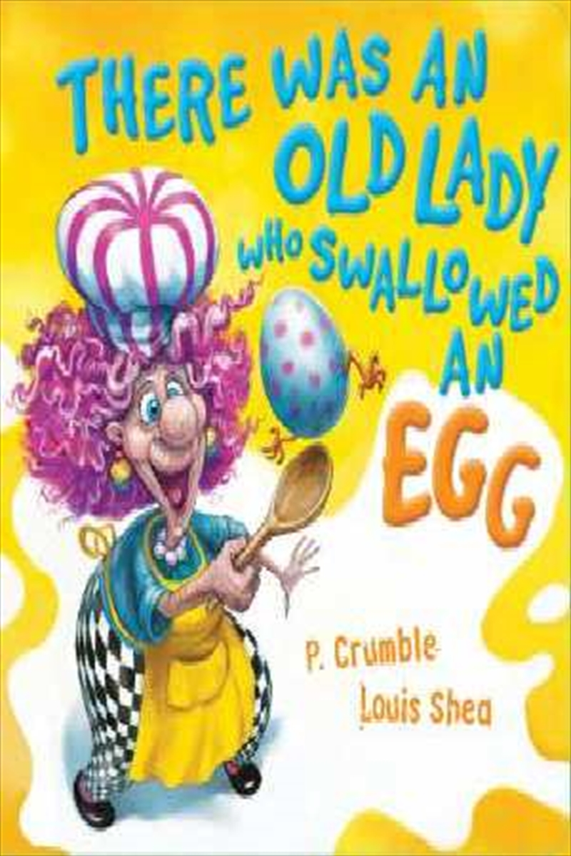 There Was an Old Lady who Swallowed an Egg Board Book | Board Book